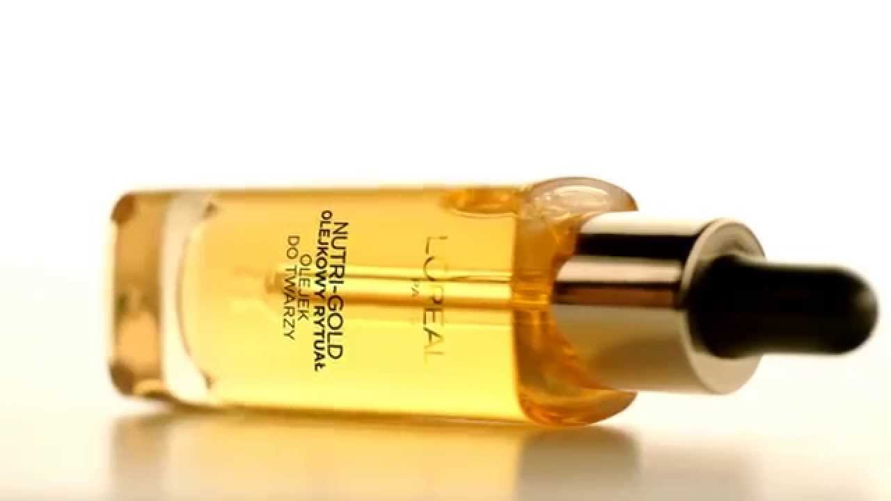 Face oils by L'Oréal Paris. Nutri-Gold collection