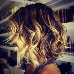 Ombre on hair