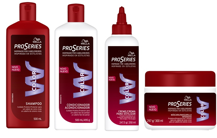 We know how to take care of dyed hair! Wella Pro Series Colour shampoo
