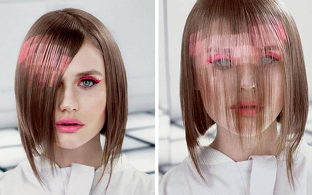 pixelate your hair