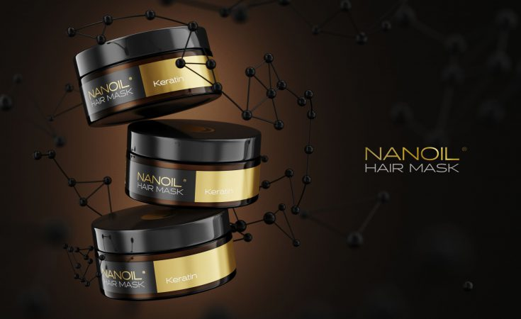 Nanoil effective mask with keratin